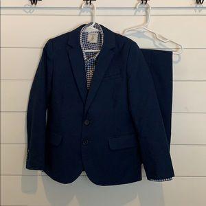 H&M Boys Classic Navy Blue Blazer & Suit Pants